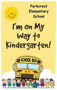 Kindergarten postcard front